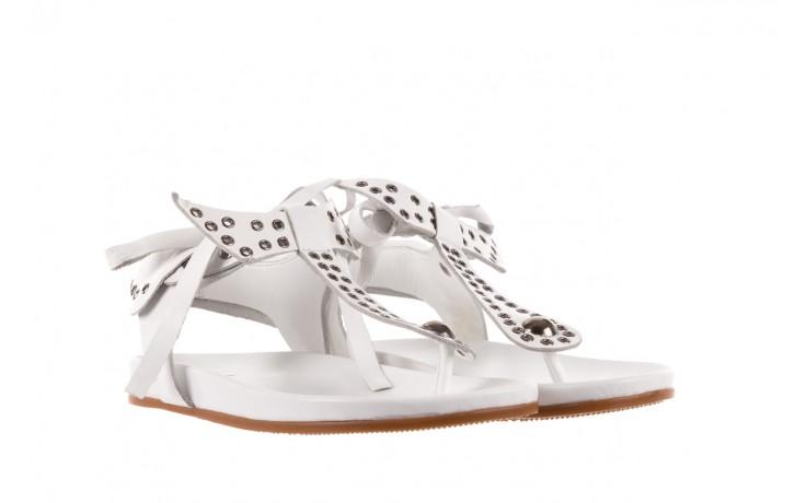Sandały bayla-163 17-178 riga, biały, skóra naturalna  - japonki - sandały - buty damskie - kobieta 1