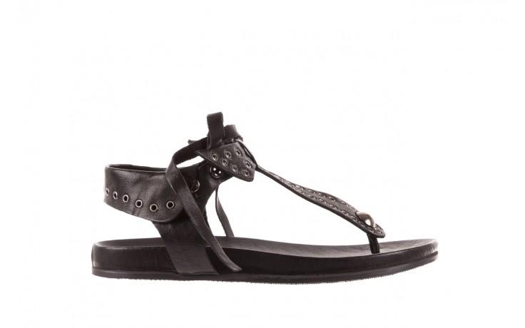 Sandały bayla-163 17-178 black, czarny, skóra naturalna  - bayla - nasze marki