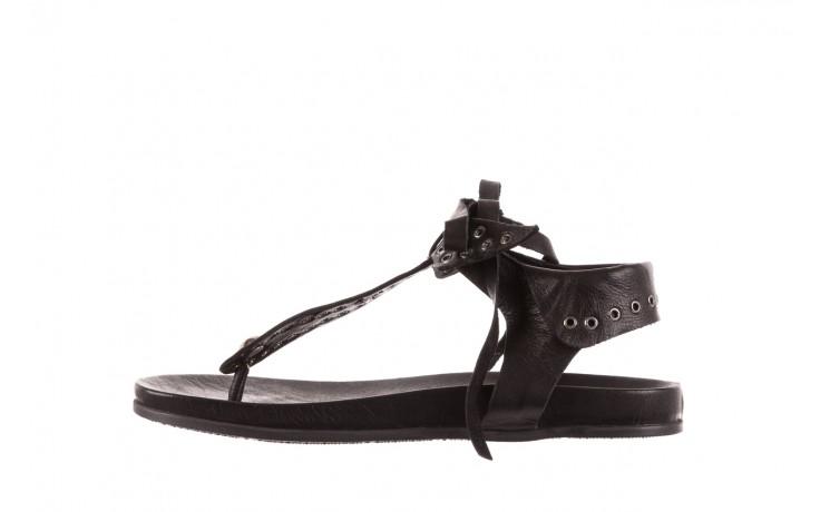 Sandały bayla-163 17-178 black, czarny, skóra naturalna  - bayla - nasze marki 2