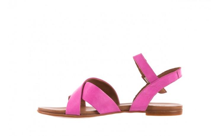 Sandały bayla-163 17-116 bead, róż, skóra naturalna  - bayla - nasze marki 2