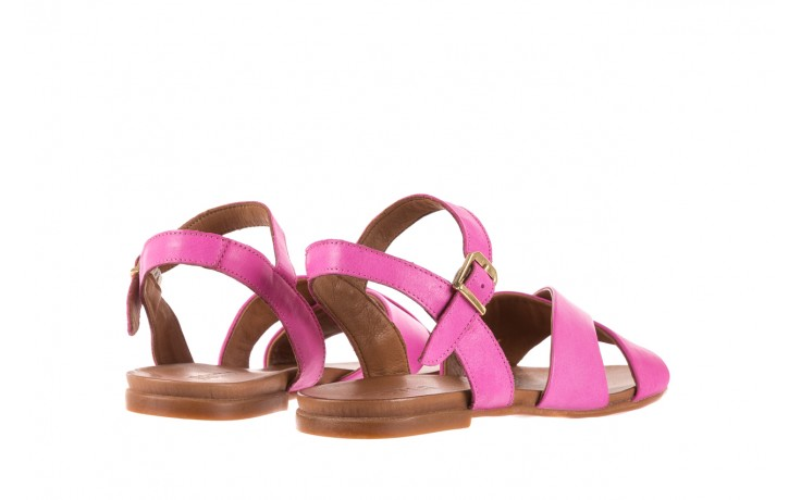 Sandały bayla-163 17-116 bead, róż, skóra naturalna 3