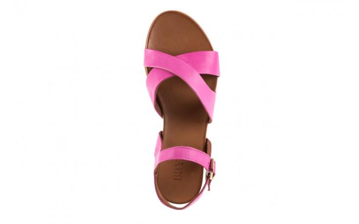 Sandały bayla-163 17-116 bead, róż, skóra naturalna  - bayla - nasze marki 4