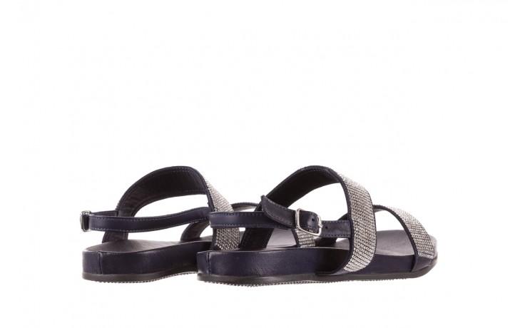 Sandały bayla-163 17-302 dark ocean, czarny, skóra naturalna  - sandały - letnie hity cenowe 3
