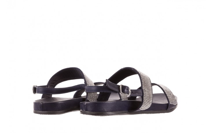 Sandały bayla-163 17-302 dark ocean, czarny, skóra naturalna  - bayla - nasze marki 3