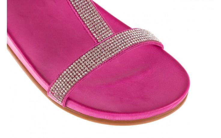 Sandały bayla-163 17-301 bead, róż, skóra naturalna 5
