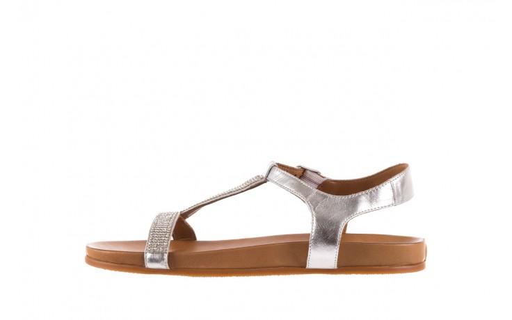 Sandały bayla-163 17-301 silver, srebrne, skóra naturalna 2