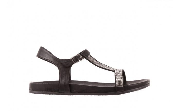 Sandały bayla-163 17-301 black, czarny, skóra naturalna  - bayla - nasze marki