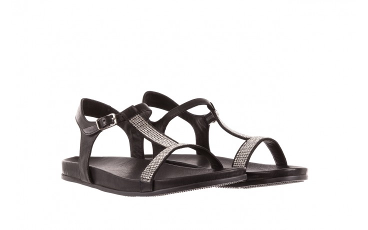 Sandały bayla-163 17-301 black, czarny, skóra naturalna  - bayla - nasze marki 1
