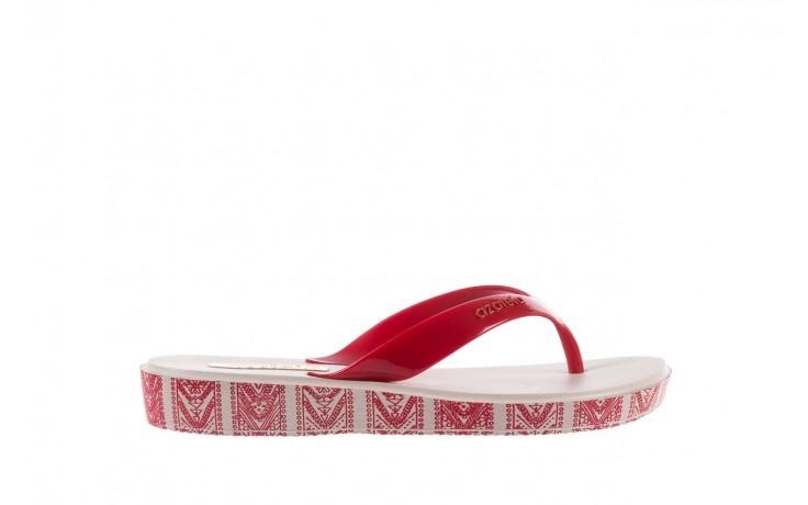Klapki azaleia 240 096 chilli peper, biały/ róż, tworzywo wysokogatunkowe   - azaleia - nasze marki