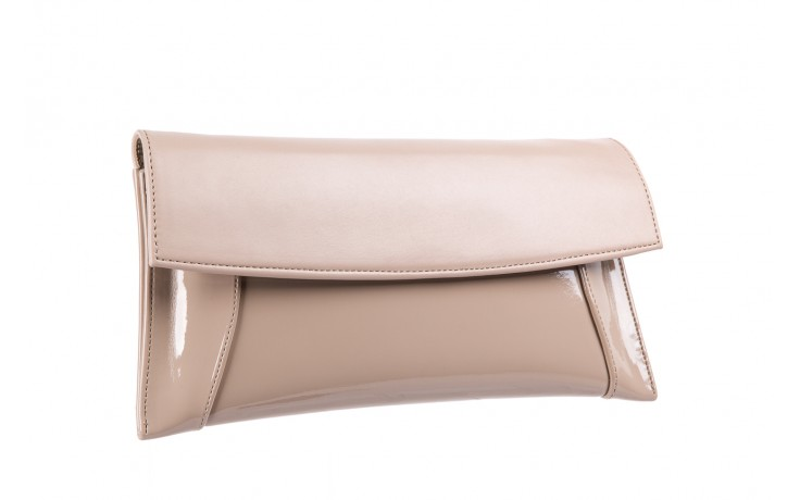 Bayla-097 torebka koperta sandra beż-lakier beż - bayla - nasze marki 2