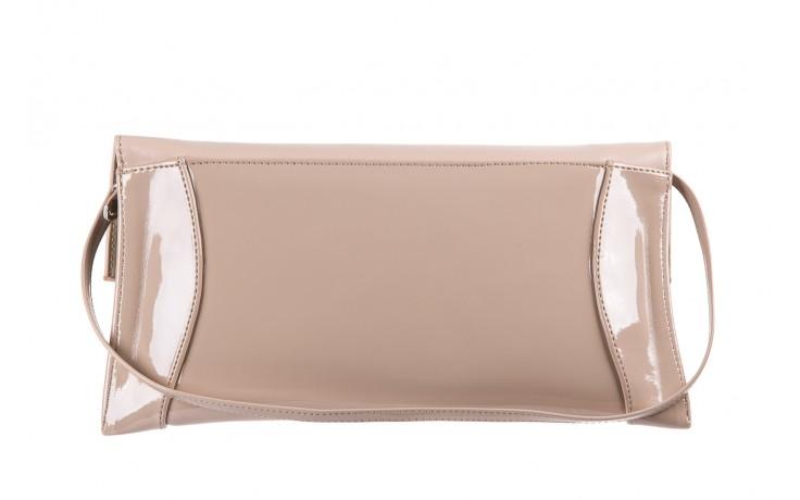 Bayla-097 torebka koperta sandra beż-lakier beż - bayla - nasze marki 1