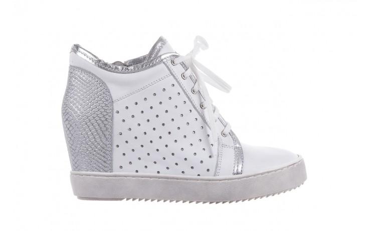 Sneakersy bayla-099 0656 biały, skóra naturalna  - bayla - nasze marki
