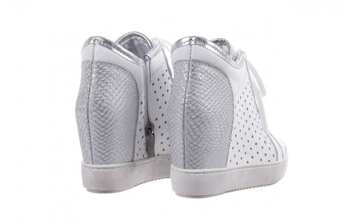 Sneakersy bayla-099 0656 biały, skóra naturalna  - bayla - nasze marki 3