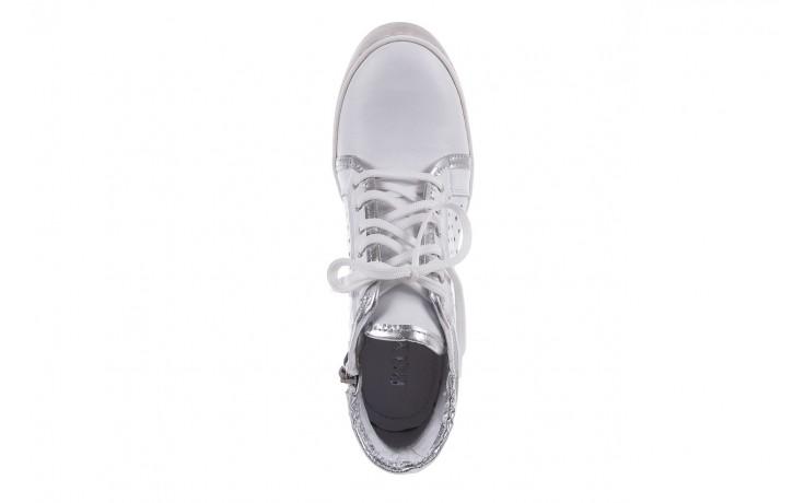Sneakersy bayla-099 0656 biały, skóra naturalna  - bayla - nasze marki 5