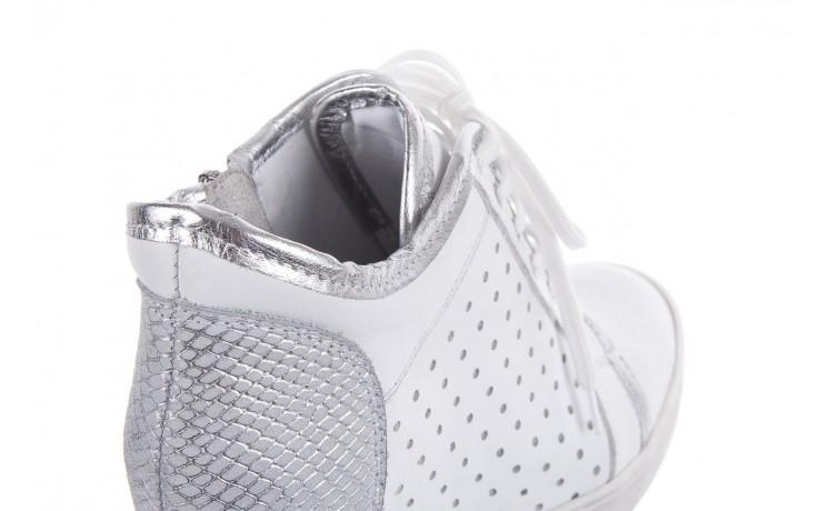 Sneakersy bayla-099 0656 biały, skóra naturalna  - bayla - nasze marki 4