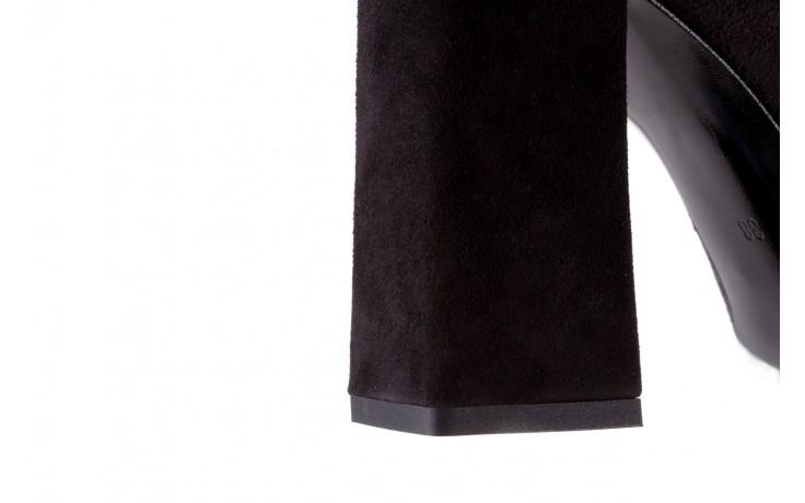 Czółenka bayla-056 5065-764 czarny 056344, skóra naturalna  - bayla - nasze marki 7