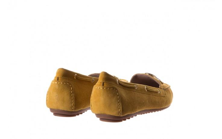 Mokasyny bayla-018 3173-335 yellow 018545, żółty, skóra naturalna  - bayla - nasze marki 3