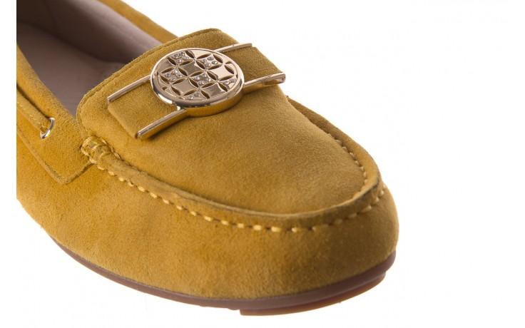 Mokasyny bayla-018 3173-335 yellow 018545, żółty, skóra naturalna  - bayla - nasze marki 5