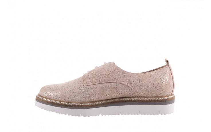 Półbuty bayla-018 1822-x1 nude 018532, beż, skóra naturalna  - zamszowe - półbuty - buty damskie - kobieta 2
