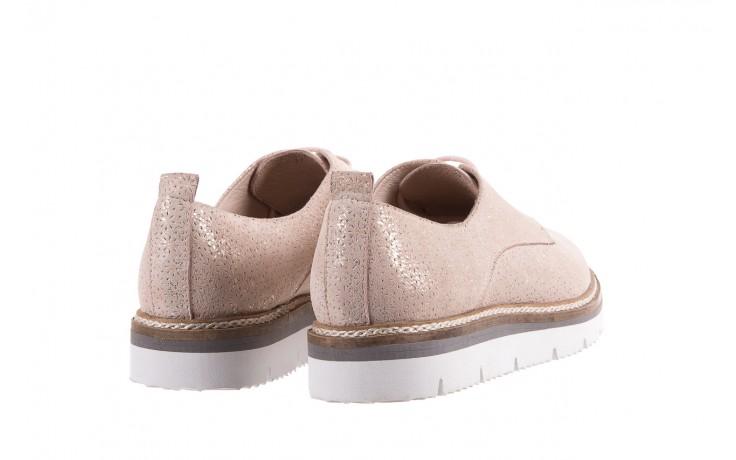 Półbuty bayla-018 1822-x1 nude 018532, beż, skóra naturalna  - zamszowe - półbuty - buty damskie - kobieta 3
