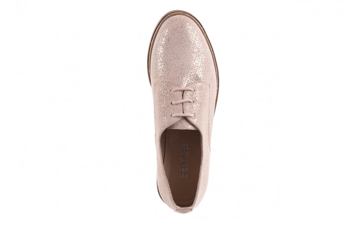 Półbuty bayla-018 1822-x1 nude 018532, beż, skóra naturalna  - zamszowe - półbuty - buty damskie - kobieta 6
