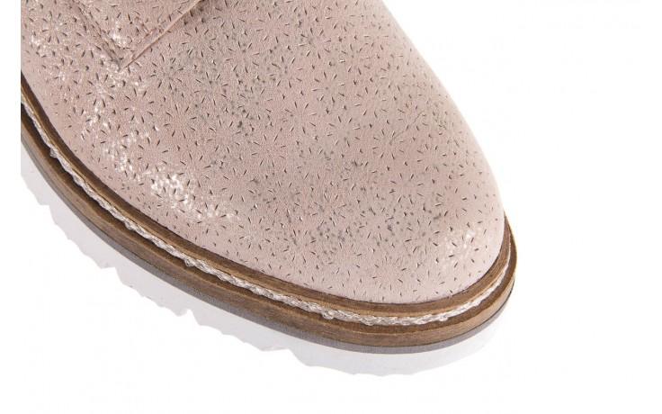 Półbuty bayla-018 1822-x1 nude 018532, beż, skóra naturalna  - zamszowe - półbuty - buty damskie - kobieta 5