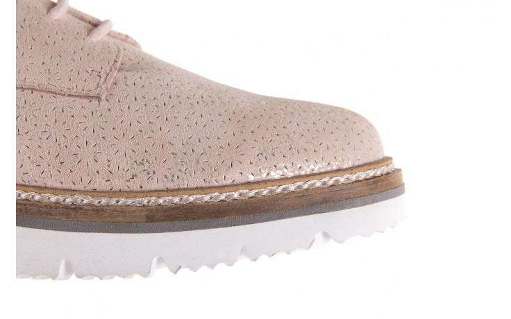 Półbuty bayla-018 1822-x1 nude 018532, beż, skóra naturalna  - zamszowe - półbuty - buty damskie - kobieta 4