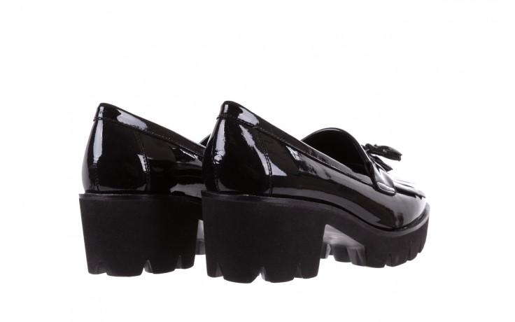 Mokasyny bayla-018 16471-x23 black, czarny, skóra naturalna lakierowana  - bayla - nasze marki 3