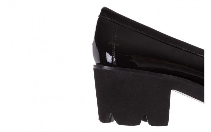 Mokasyny bayla-018 16471-x23 black, czarny, skóra naturalna lakierowana  - bayla - nasze marki 7