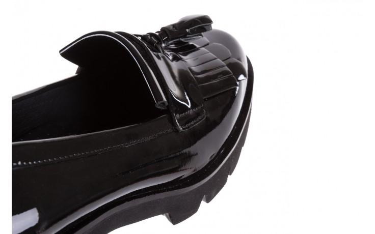 Mokasyny bayla-018 16471-x23 black, czarny, skóra naturalna lakierowana  - bayla - nasze marki 5
