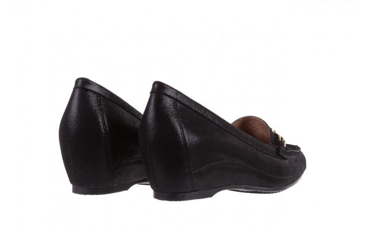 Mokasyny bayla-018 1647-35 black, czarny, skórna naturalna  - na koturnie - półbuty - buty damskie - kobieta 3
