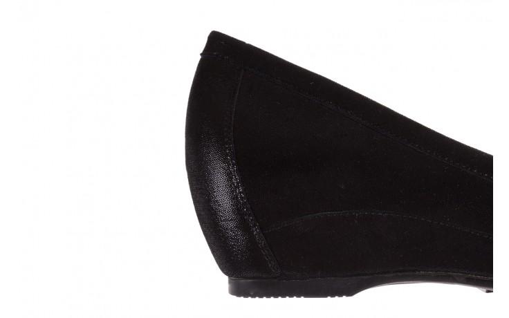 Mokasyny bayla-018 1647-35 black, czarny, skórna naturalna  - na koturnie - półbuty - buty damskie - kobieta 6