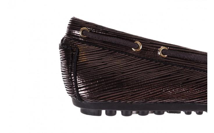 Mokasyny bayla-018 3173-358 pewter, czarny, skóra naturalna   - zamszowe - półbuty - buty damskie - kobieta 5