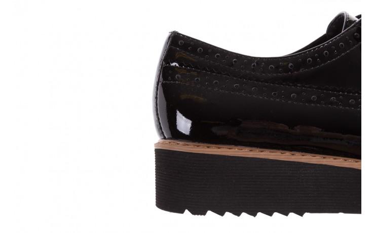 Półbuty bayla-018 1661-x32 black, czarny, skóra naturalna lakierowana 6