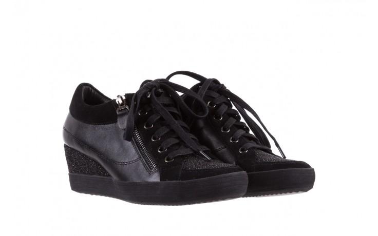 Sneakersy bayla-018 sw-1707 black, czarny, skóra naturalna  - bayla - nasze marki 1