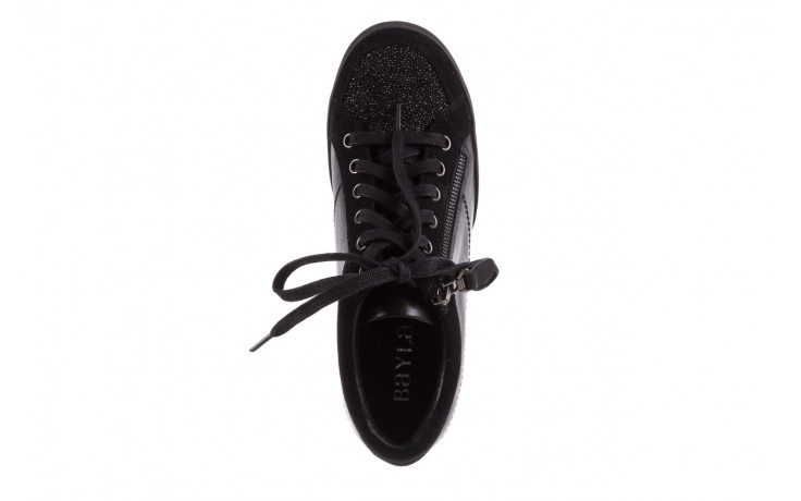 Sneakersy bayla-018 sw-1707 black, czarny, skóra naturalna  - bayla - nasze marki 4