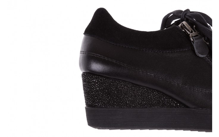 Sneakersy bayla-018 sw-1707 black, czarny, skóra naturalna  - bayla - nasze marki 7