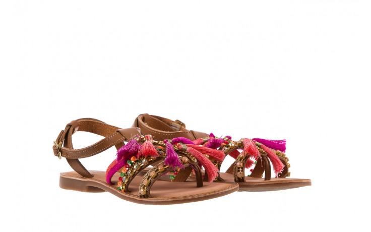 Sandały gioseppo nambi pink, brąz, skóra naturalna  - gioseppo - nasze marki 1