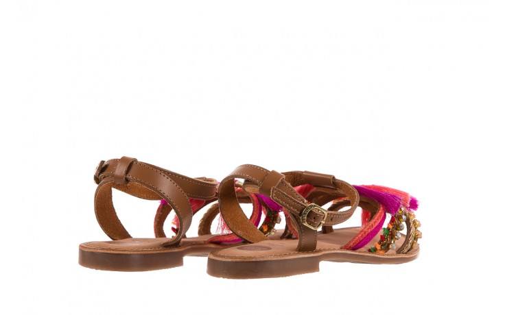 Sandały gioseppo nambi pink, brąz, skóra naturalna  - gioseppo - nasze marki 3