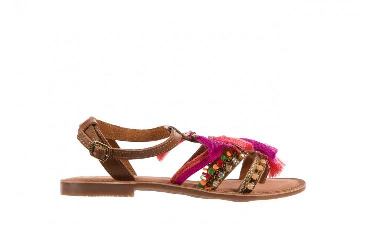 Sandały gioseppo nambi pink, brąz, skóra naturalna  - gioseppo - nasze marki