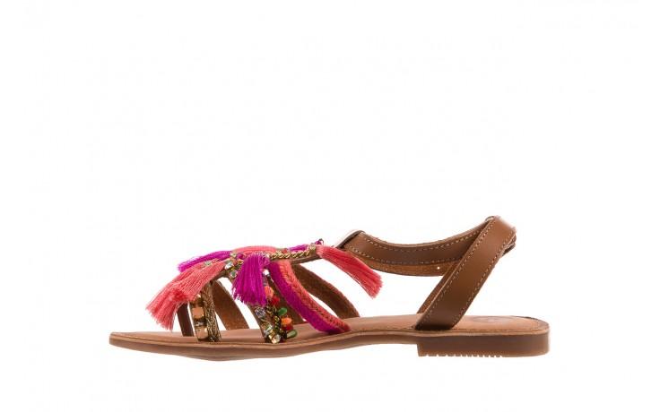Sandały gioseppo nambi pink, brąz, skóra naturalna  - gioseppo - nasze marki 2