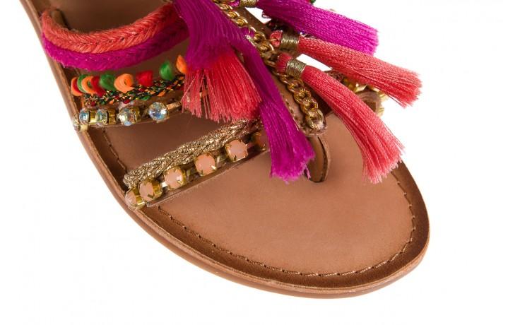 Sandały gioseppo nambi pink, brąz, skóra naturalna  - gioseppo - nasze marki 5