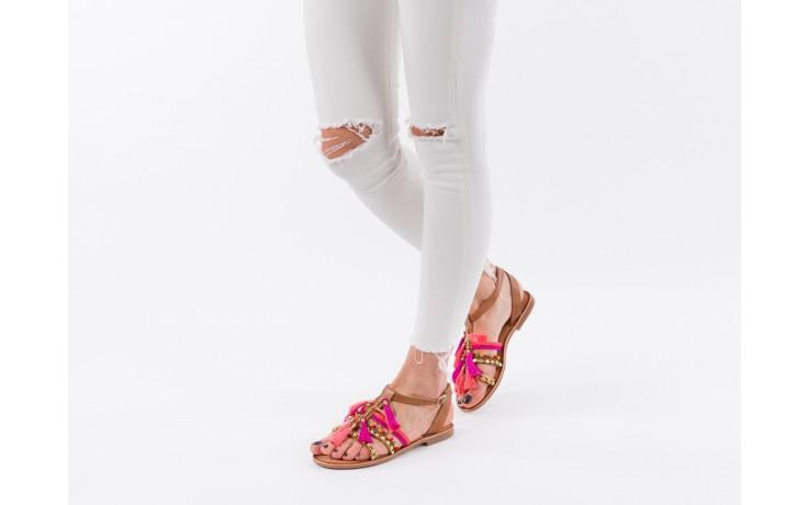 Sandały gioseppo nambi pink, brąz, skóra naturalna  - gioseppo - nasze marki 6