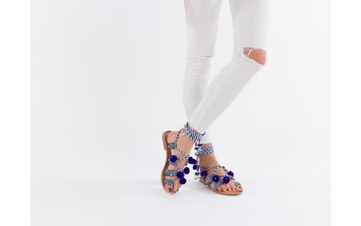 Sandały gioseppo yurak blue, granat, skóra naturalna  - sandały - dla niej - dodatkowe -10% 6