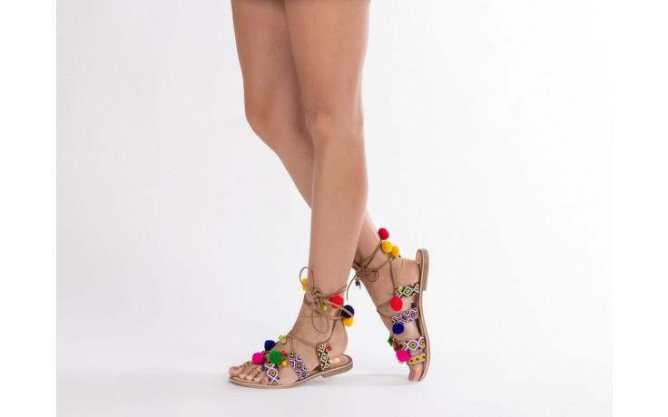 Sandały gioseppo omahas tan, wielokolorowy, skóra naturalna  - gioseppo - nasze marki 7