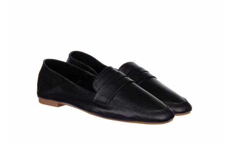 Półbuty bayla-161 138 4060 black 161222, czarny, skóra naturalna  - wsuwane - półbuty - buty damskie - kobieta 1
