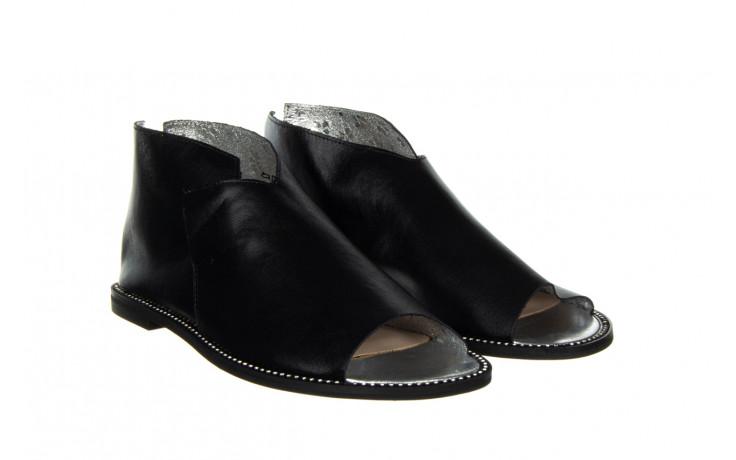 Sandały bayla-194 9768 08 czarny 194008, skóra naturalna  - nowości 1