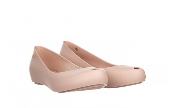Baleriny melissa ultragirl basic ad light pink 21 010373, róż, guma  - gumowe - baleriny - buty damskie - kobieta 1