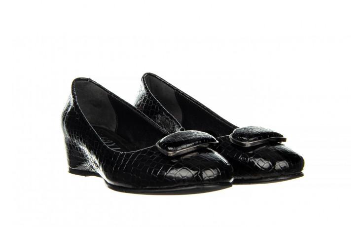 Baleriny bayla-187 105 black 187013, czarny, skóra naturalna  - bayla - nasze marki 1