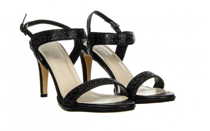 Sandały bayla-187 587-536 black 187019, czarny, skóra ekologiczna  - sandały - buty damskie - kobieta 1